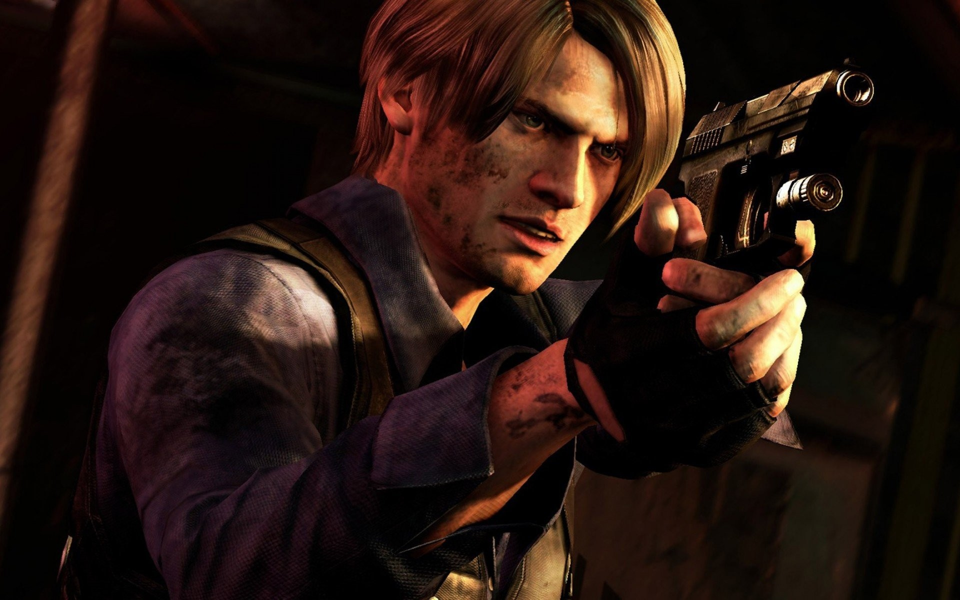 Resident Evil 4 Leon Wallpaper 65 Pictures
