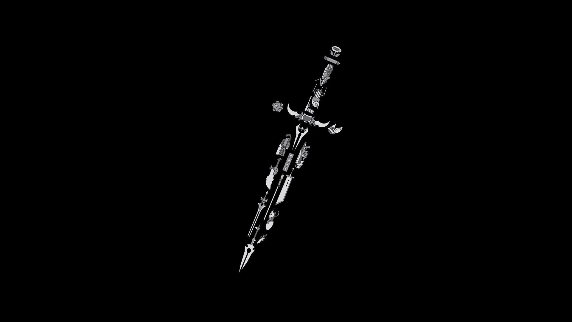 Final Fantasy sword HD Wallpaper 1920x1080 1920x1080