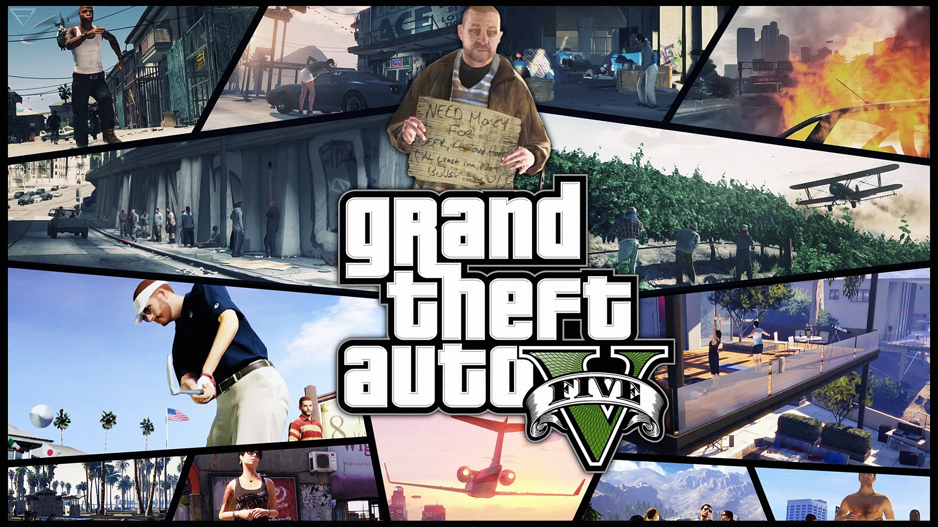 Grand Theft Auto V Wallpapers 75 Pictures