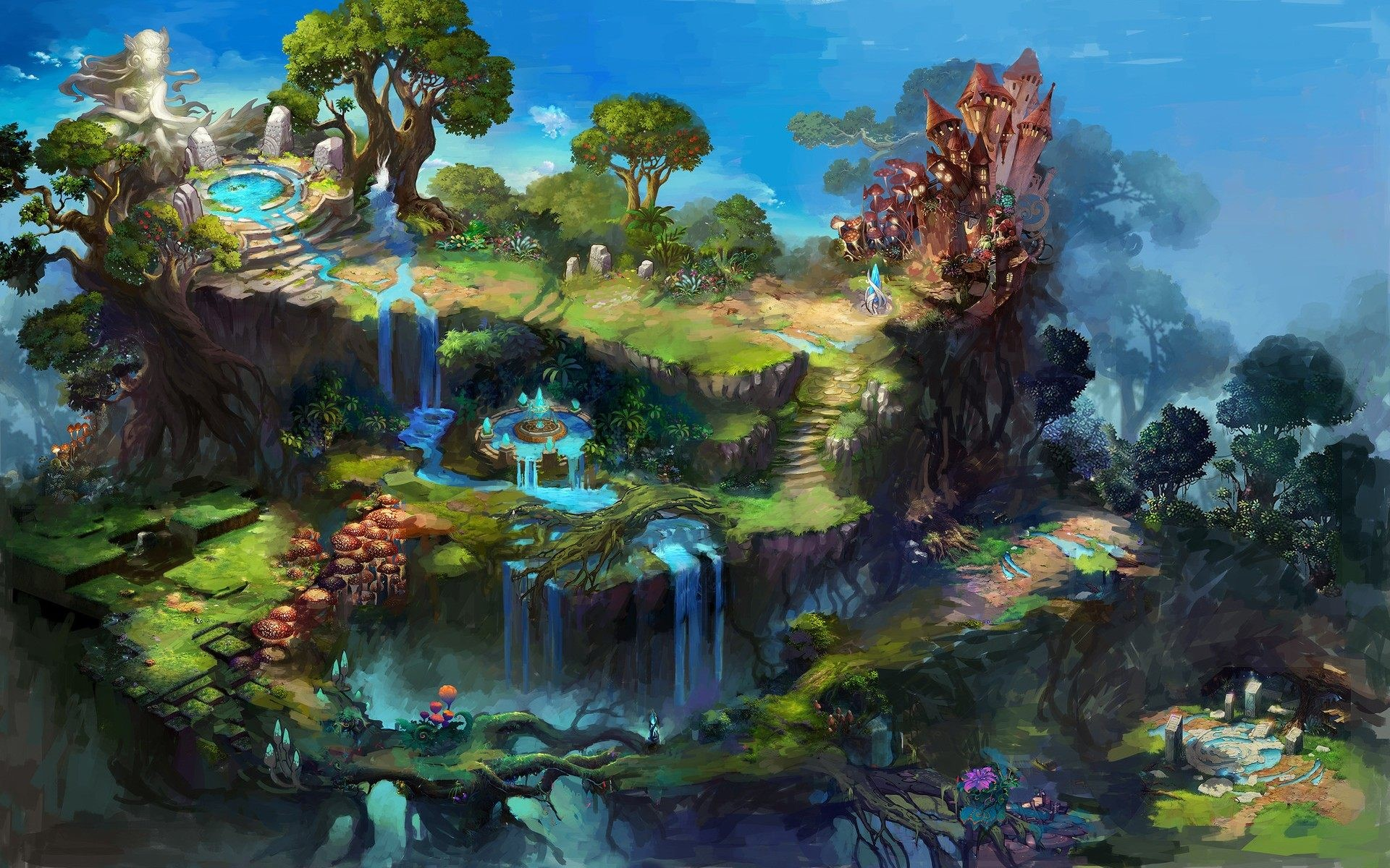 Fantasy World Wallpaper 83 Pictures