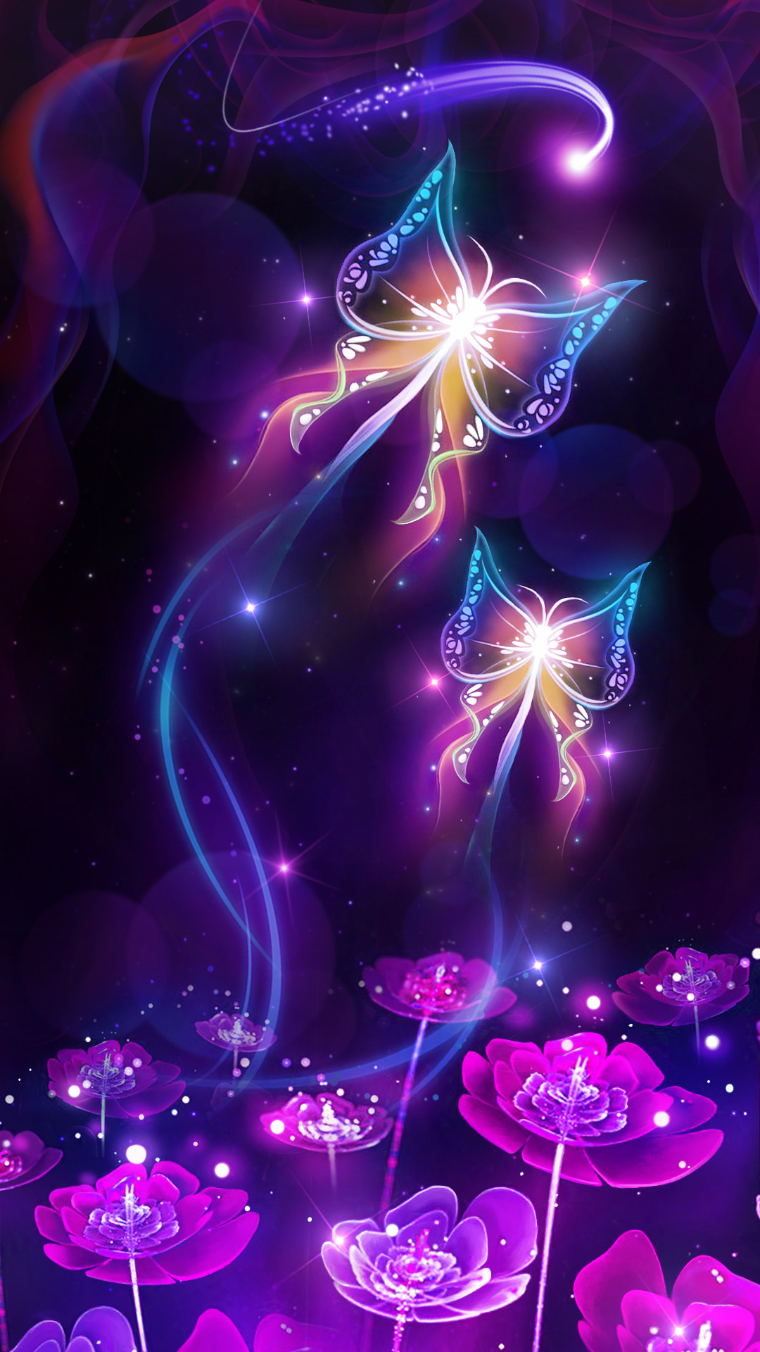 Purple Butterfly Wallpapers 57 Pictures-8056