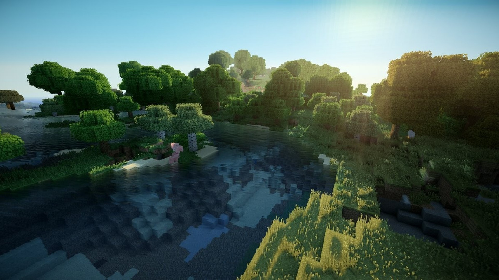 Wallpaper Minecraft Hd 3d