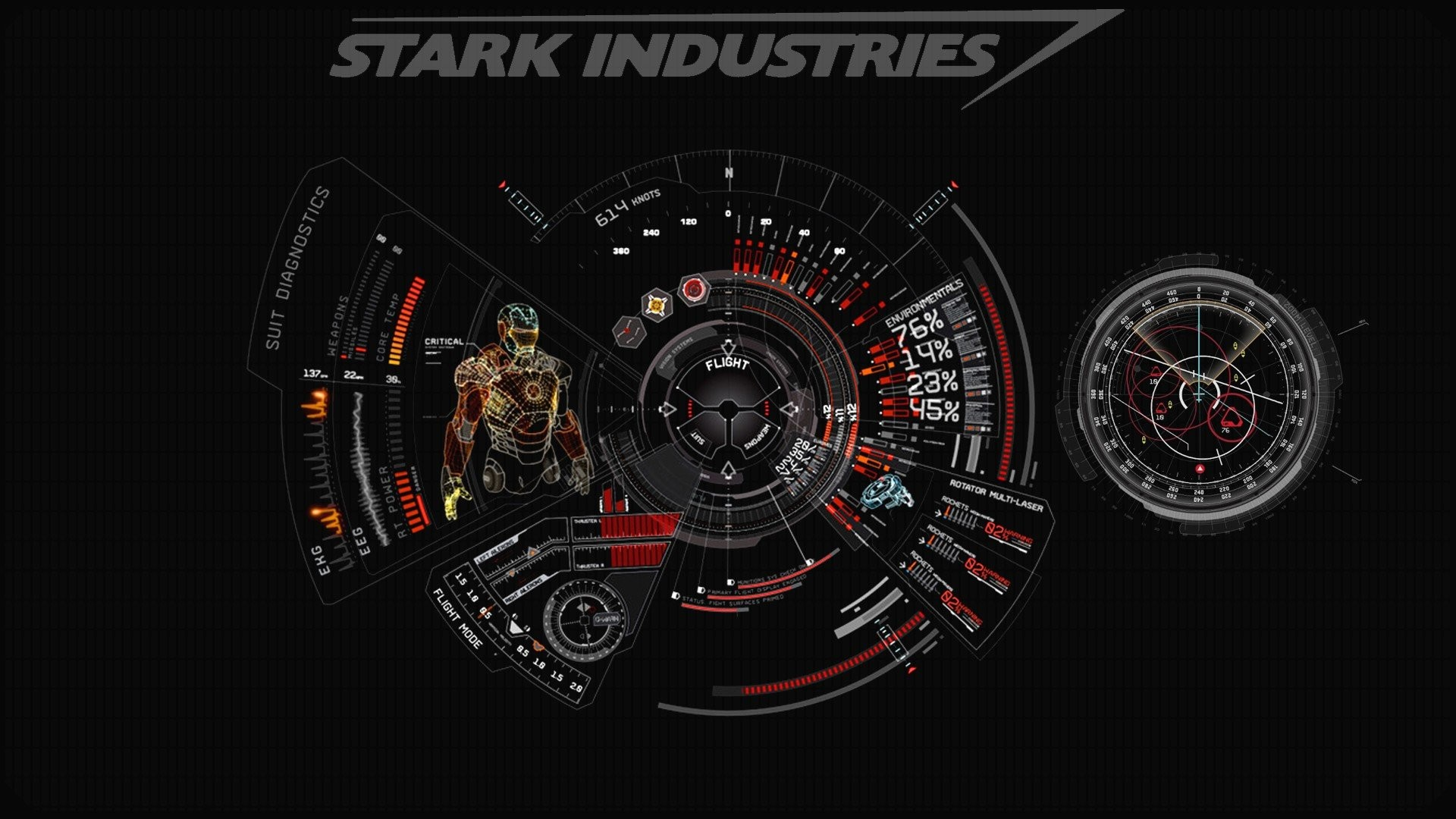 Iron Man Wallpaper 34447: Jarvis Wallpapers (62+ Pictures