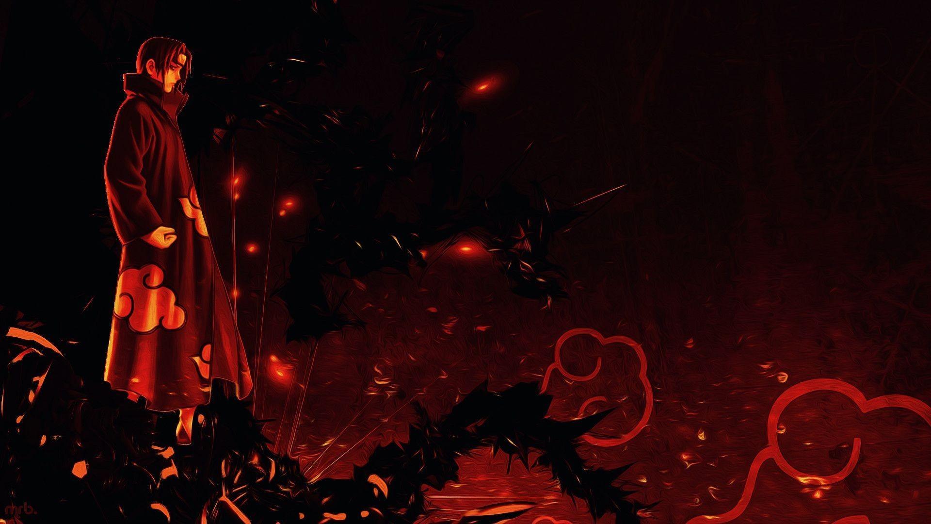 Itachi Amaterasu Wallpaper Hd