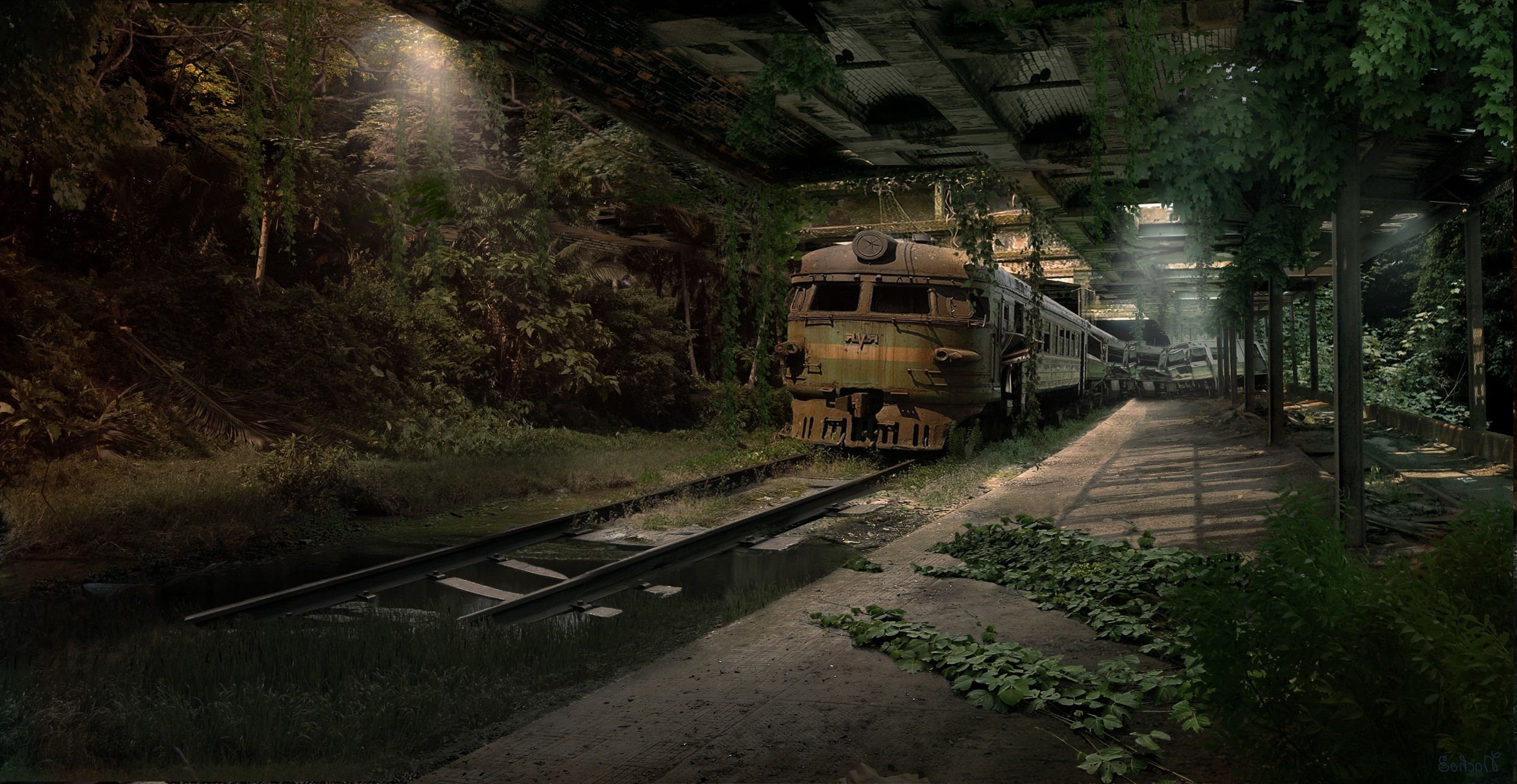Train Backgrounds 64 Pictures