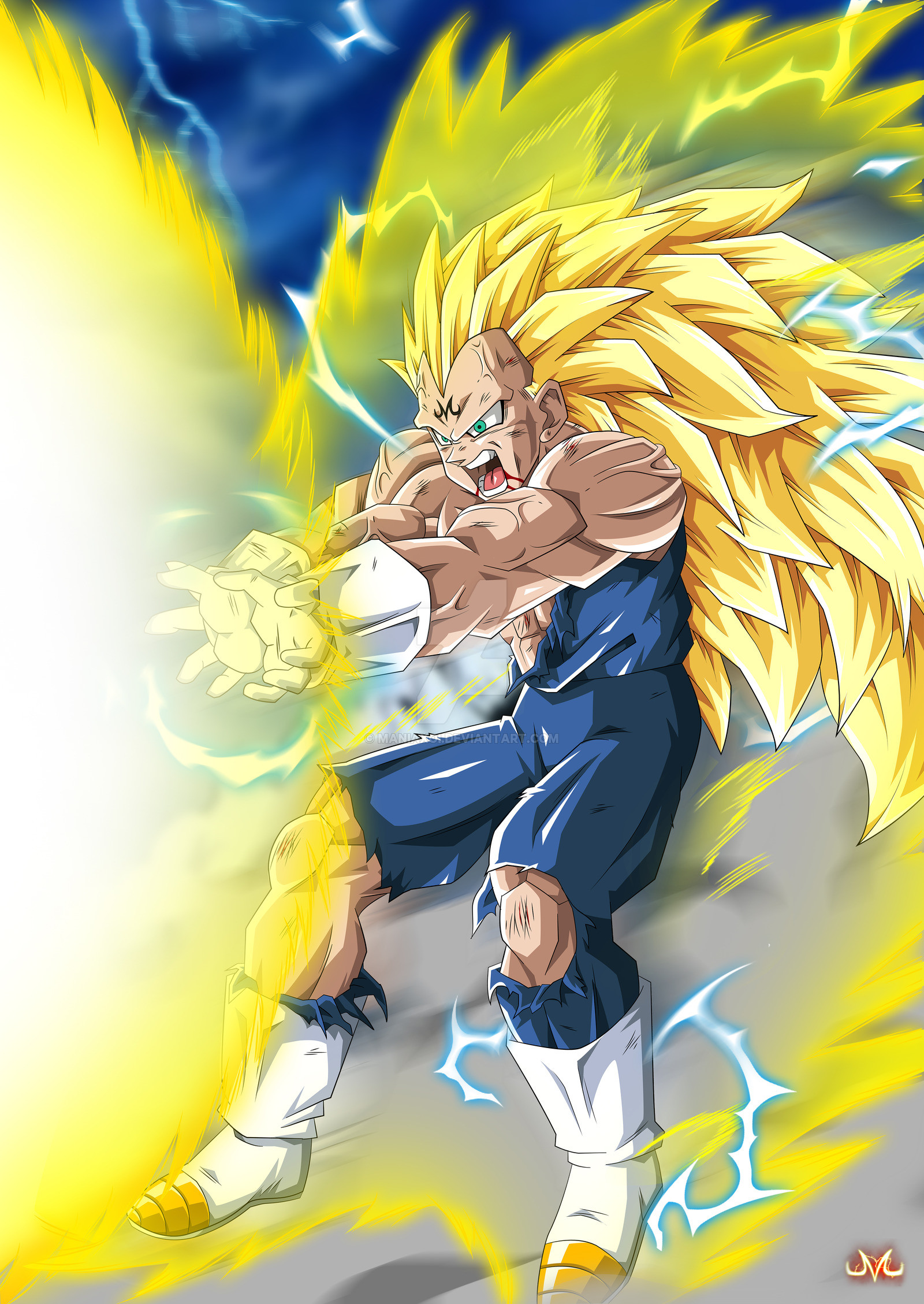 Majin vegeta wallpapers 66 pictures - Dragon ball z majin vegeta wallpaper ...