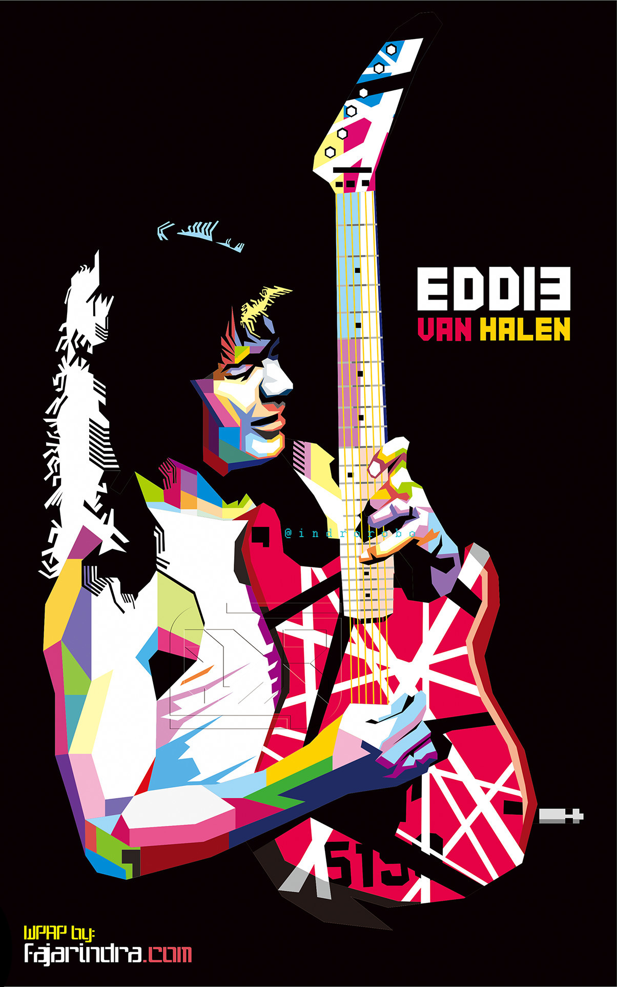 Eddie Van Halen Frankenstein Wallpaper