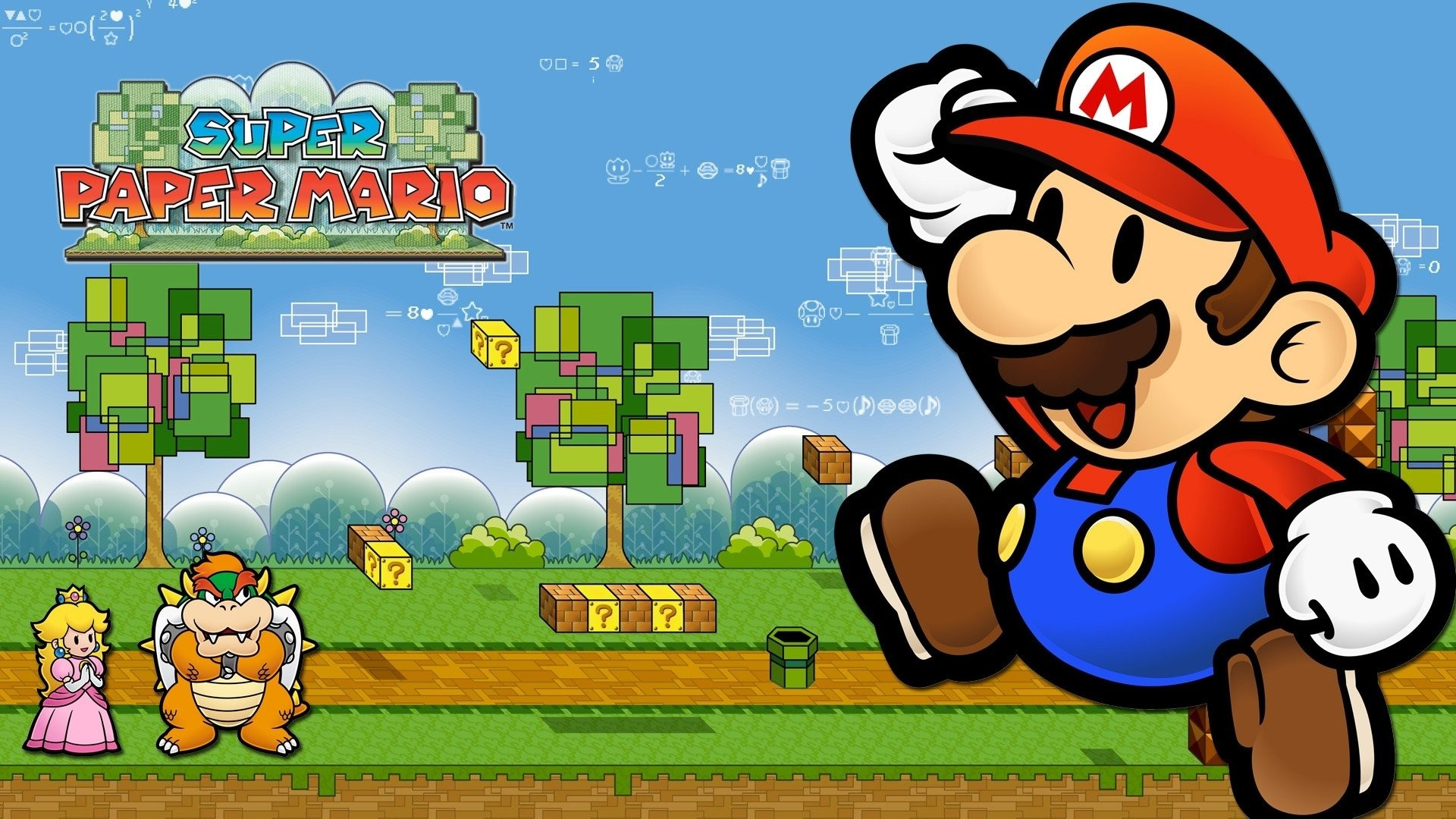 Super Paper Mario Wallpapers 72 Pictures