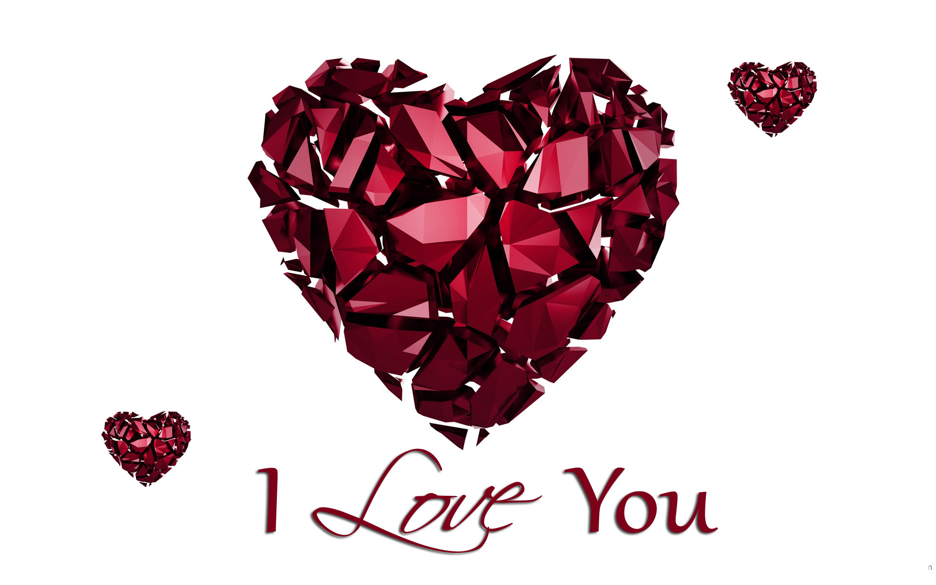 i love you heart wallpaper (59+ pictures)