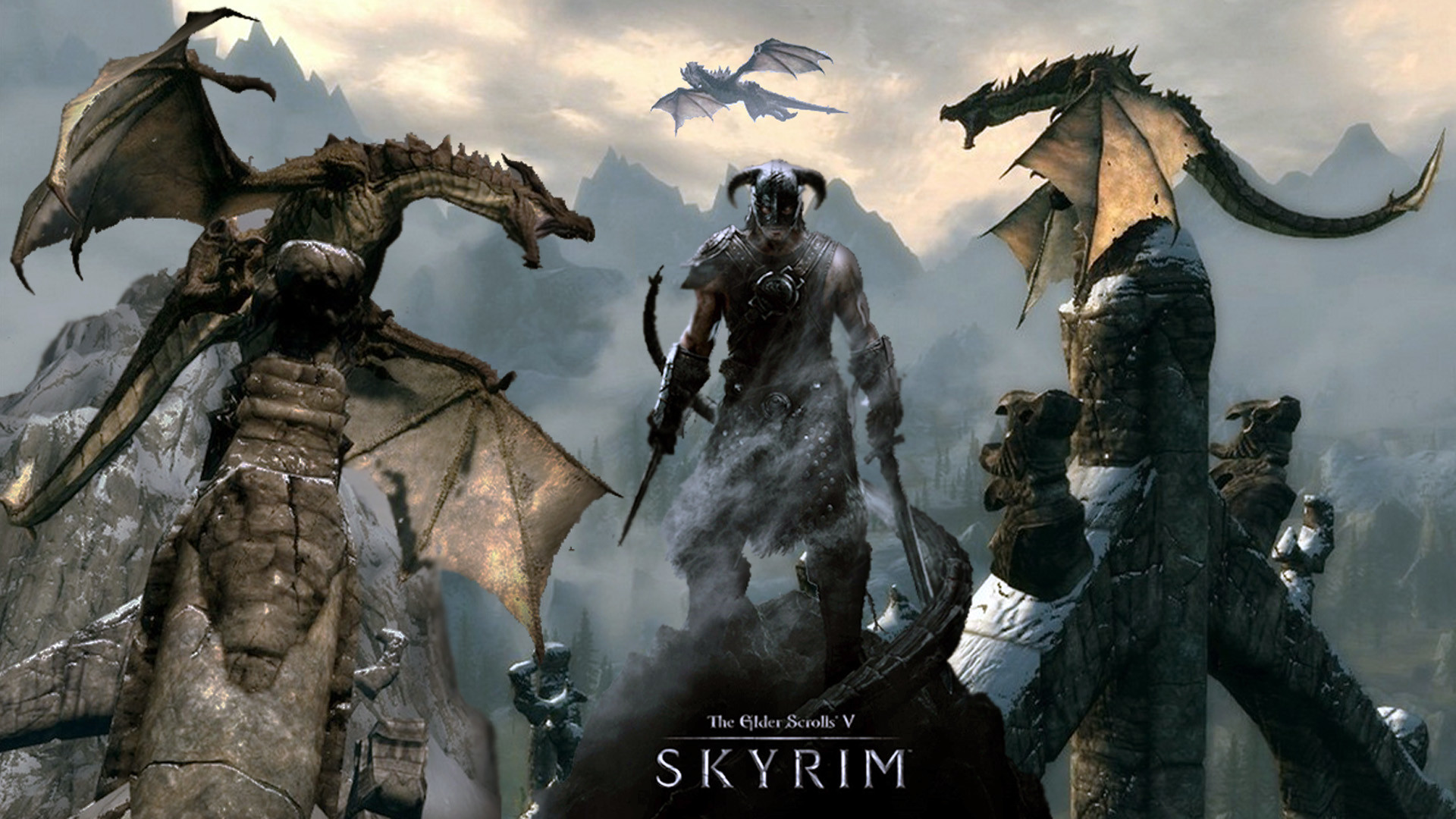 Skyrim Computer Backgrounds 69 Pictures