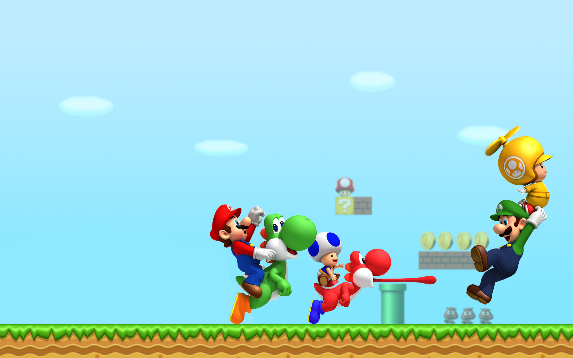Mario and Luigi Backgrounds (54+ pictures)
