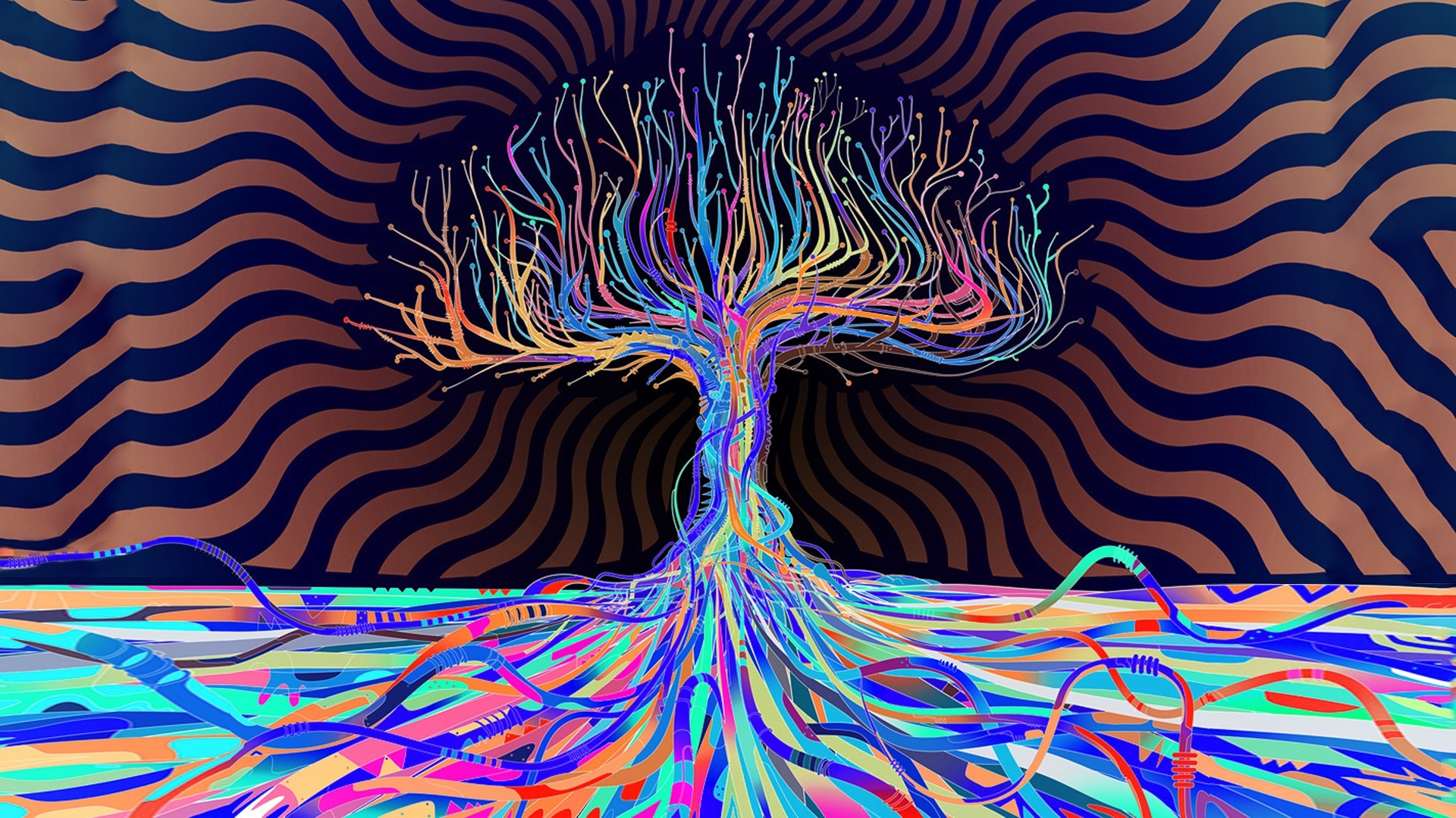 Trippy Hd Wallpaper 72 Pictures