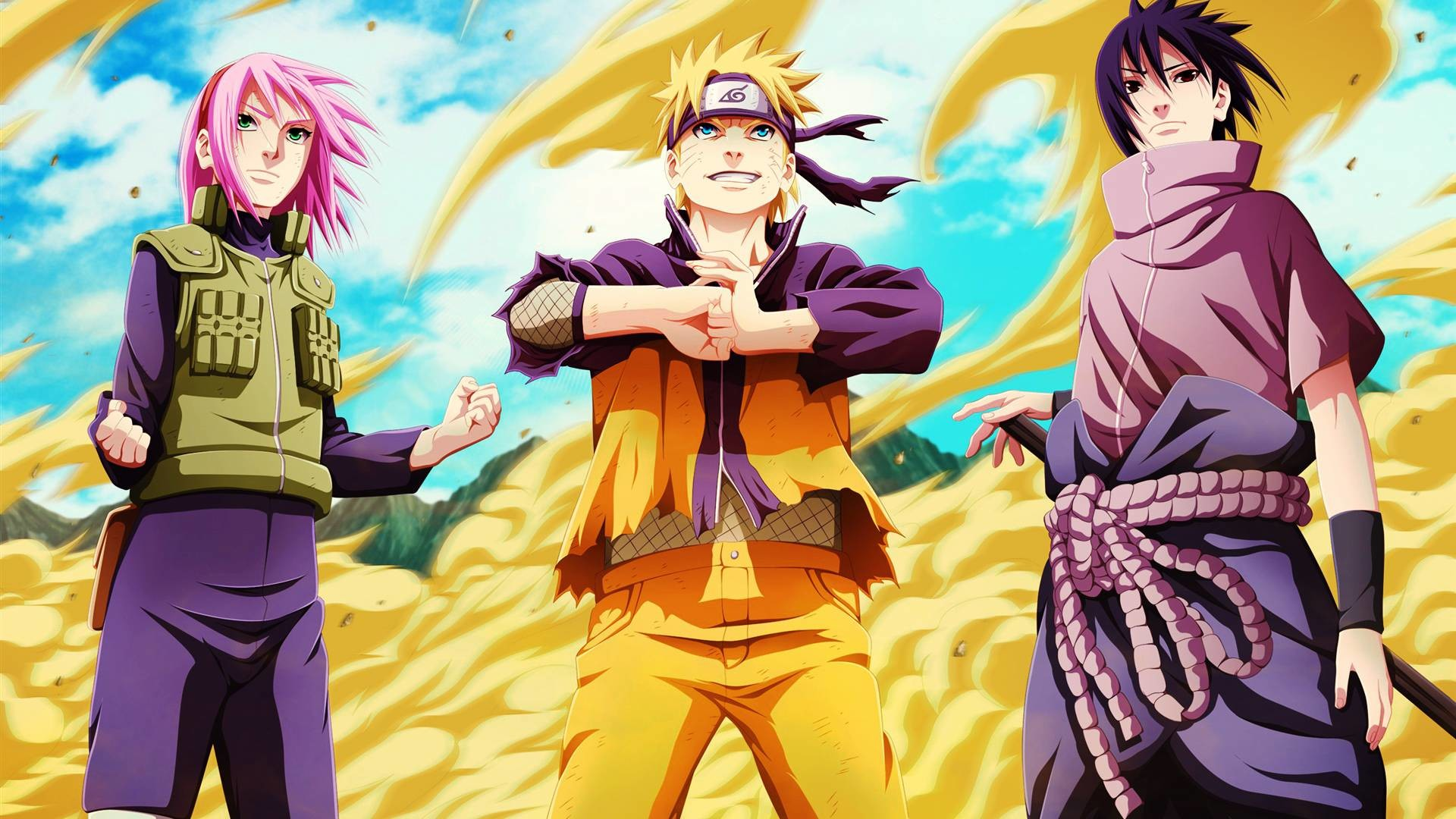Naruto Team 7 Wallpapers 61 Pictures