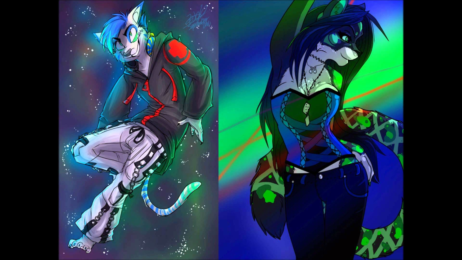 Furry Rave Backgrounds (52+ pictures)