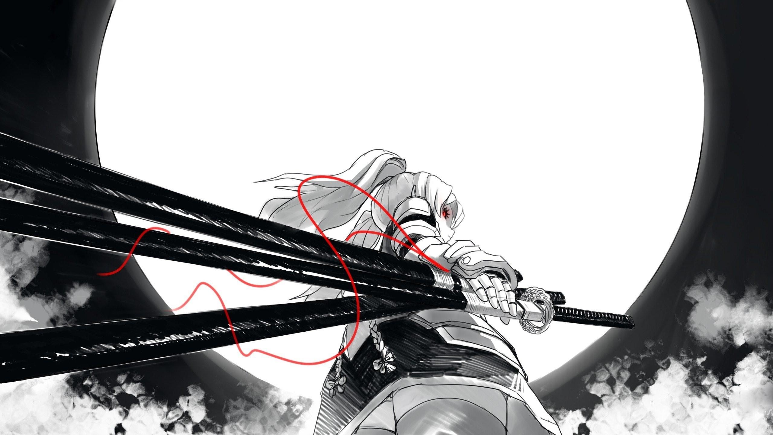 wallpaper.wiki-Samurai-woman-sword-wallpapers-PIC-WPE0010441 2560x1440
