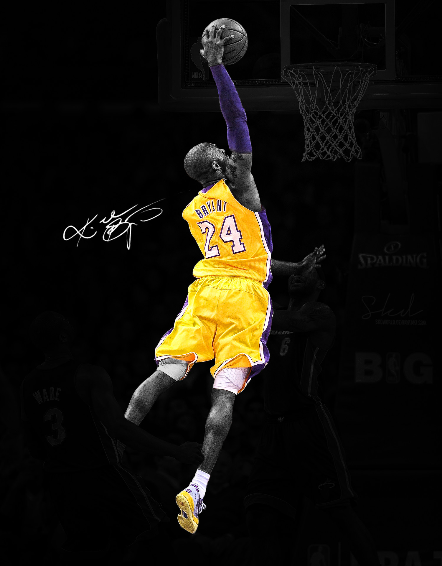 Kobe Bryant 24 Wallpaper 75 Pictures
