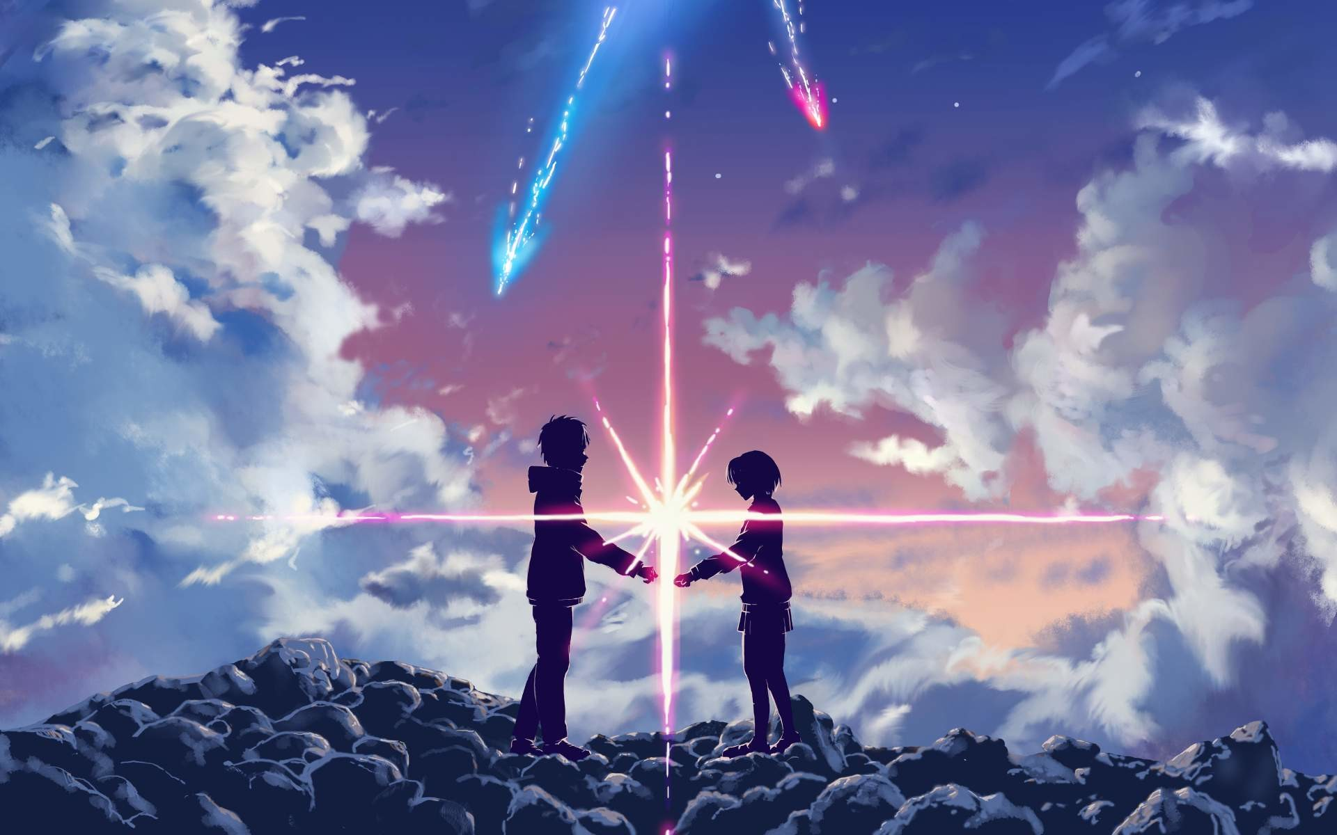 Wallpaper Anime Couple 76 Pictures