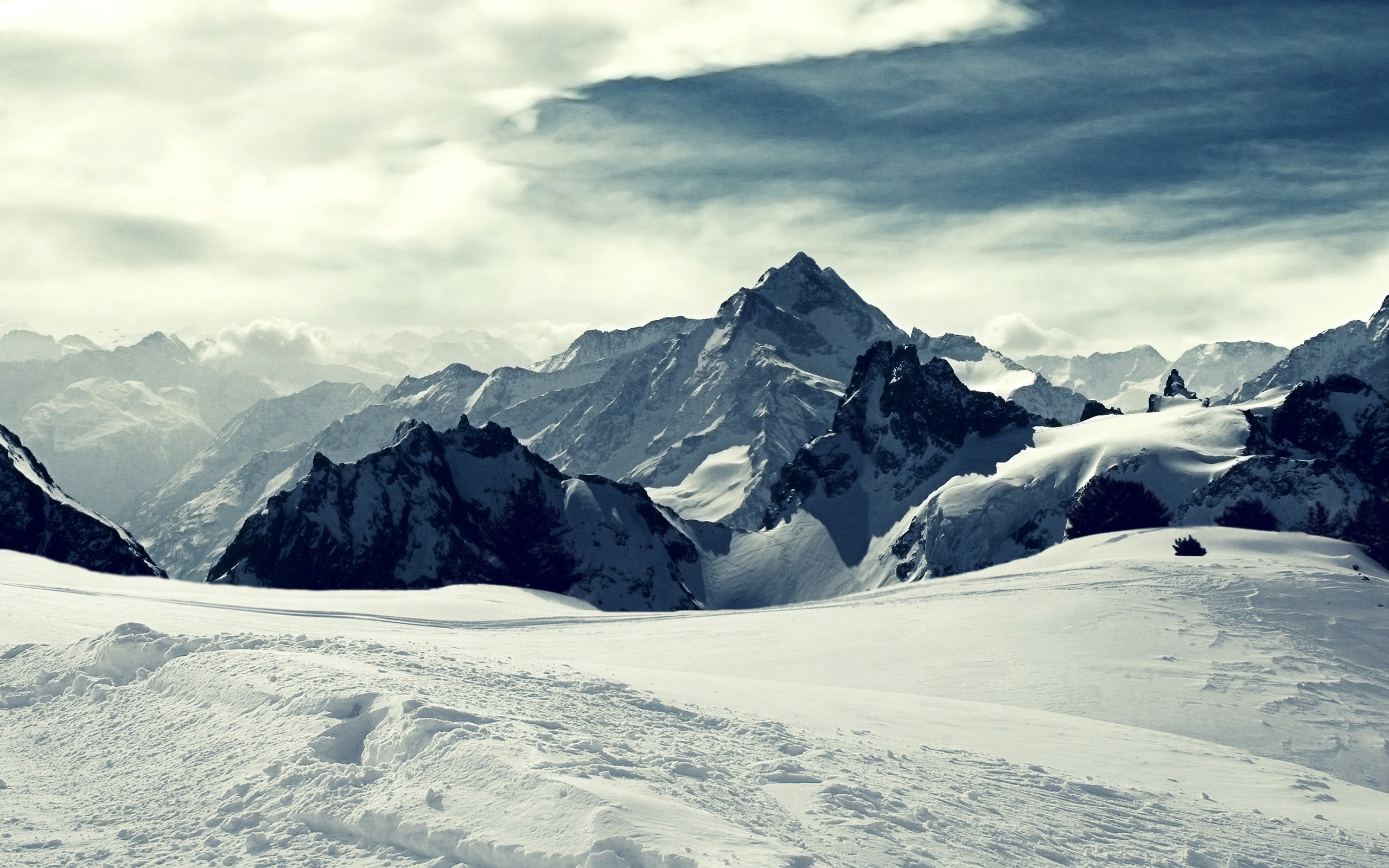 Winter Mountain Wallpaper 73 Pictures